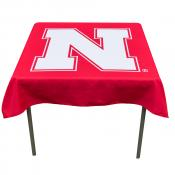 Tablecloth for Nebraska Huskers