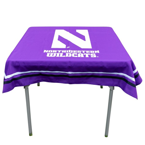 Tablecloth for Northwestern Wildcats