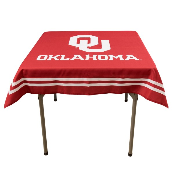 Tablecloth for OU Sooners