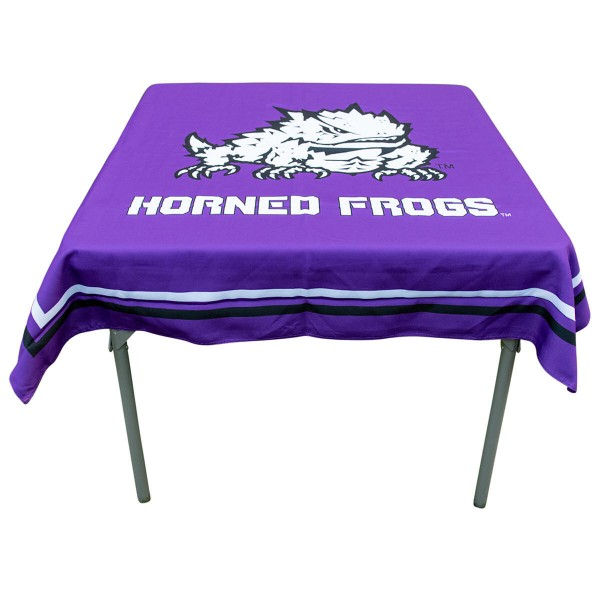 Tablecloth for TCU Horned Frogs
