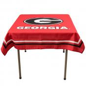 Tablecloth for UGA Bulldogs