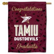 TAMIU Dustdevils Graduation Banner
