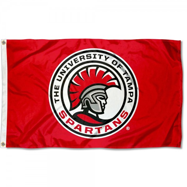 Tampa Spartans Logo Flag