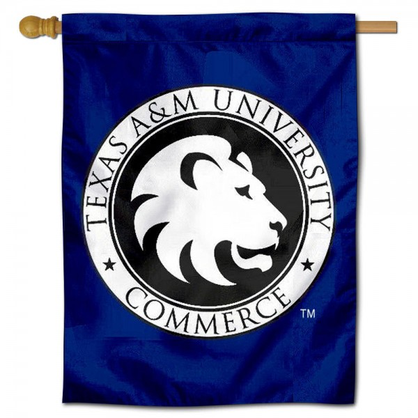 TAMUC Lions House Flag