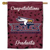 TAMUT Eagles Graduation Banner