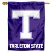 Tarleton State Polyester House Flag