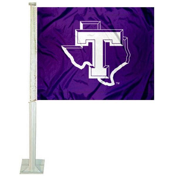Tarleton State Texans Car Flag