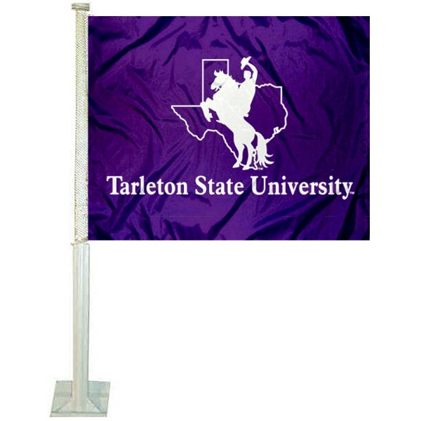 Tarleton State Texans Car Flag