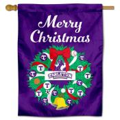 Tarleton State Texans Christmas Holiday House Flag