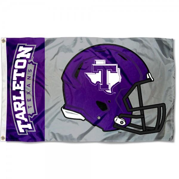 Tarleton State Texans Helmet Flag