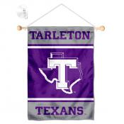 Tarleton State Texans Window Hanging Banner with Suction Cup