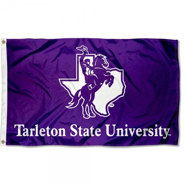 Tarleton State Texans Wordmark 3x5 Foot Flag