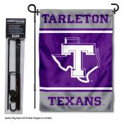 Tarleton State University Garden Flag and Yard Pole Holder Set