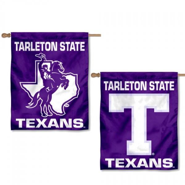 Tarleton State University Logo House Flag