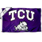 TCU 4'x6' Flag