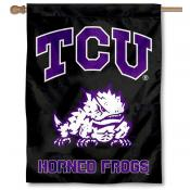 TCU Black House Flag