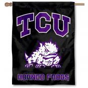 TCU Black House Flag