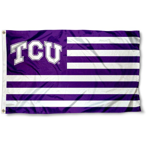 TCU Horned Frog Nation Flag