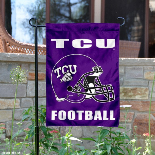 TCU Horned Frogs Football Garden Flag
