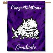 TCU Horned Frogs Graduation Banner