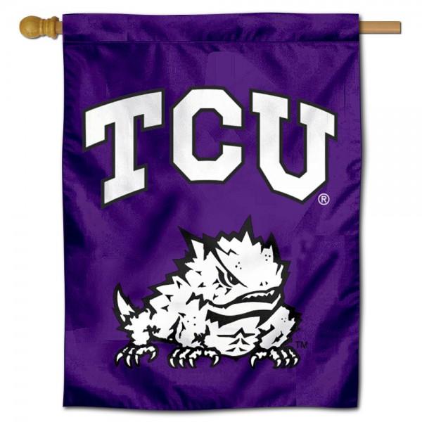 TCU Horned Frogs House Flag