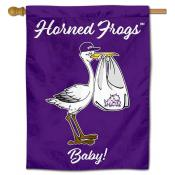TCU Horned Frogs New Baby Banner