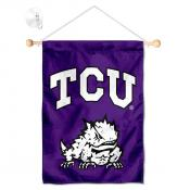 TCU Horned Frogs Small Wall and Window Banner