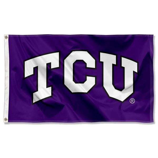 TCU Logo Flag