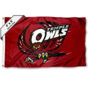 Temple Owls 4'x6' Flag
