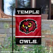 Temple Owls Garden Flag