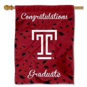 Temple Owls Graduation Banner