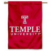 Temple Owls House Flag