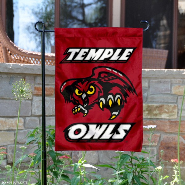 Temple Owls Yard Flag