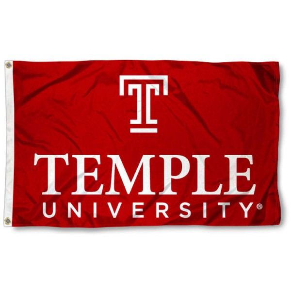 Temple University Owls College Flag