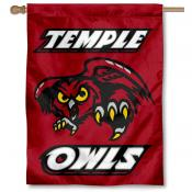 Temple University Owls House Flag