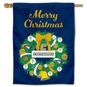 Tennessee Chattanooga Mocs Christmas Holiday House Flag