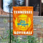 Tennessee Lady Vols Softball Garden Flag