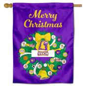 Tennessee Tech Golden Eagles Christmas Holiday House Flag