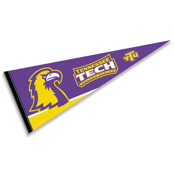Tennessee Tech TTU Golden Eagles Pennant