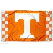 Tennessee Vols Checkerboard Stripes Flag