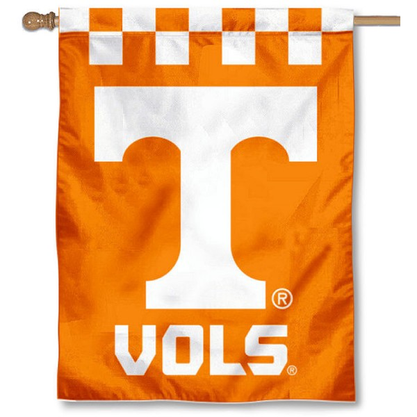 Tennessee Vols Checkered House Flag