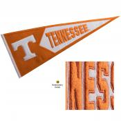 Tennessee Vols Embroidered Wool Pennant