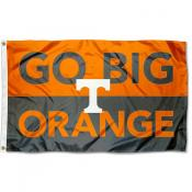 Tennessee Vols Go Big Orange Outdoor Flag