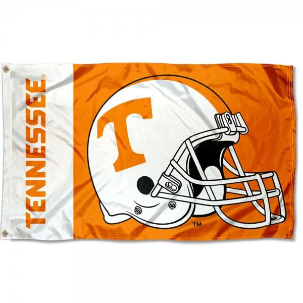 Tennessee Vols Helmet Flag