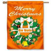 Tennessee Vols Holiday Flag