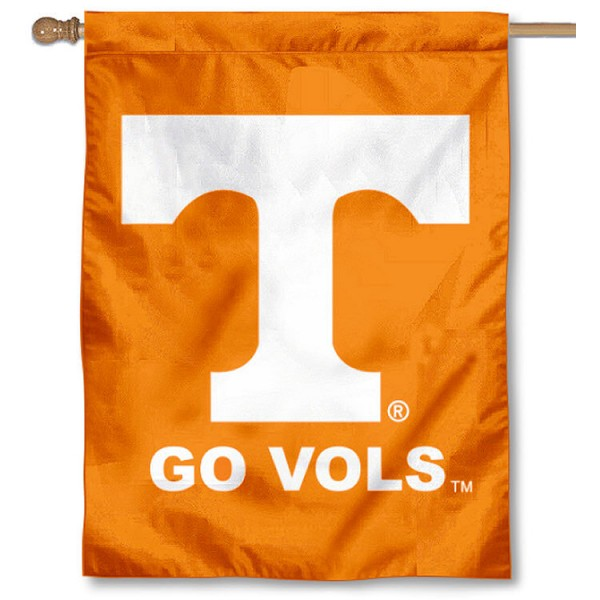 Tennessee Vols House Flag