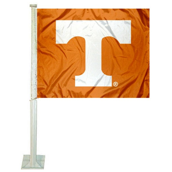 Tennessee Vols Power T Car Flag
