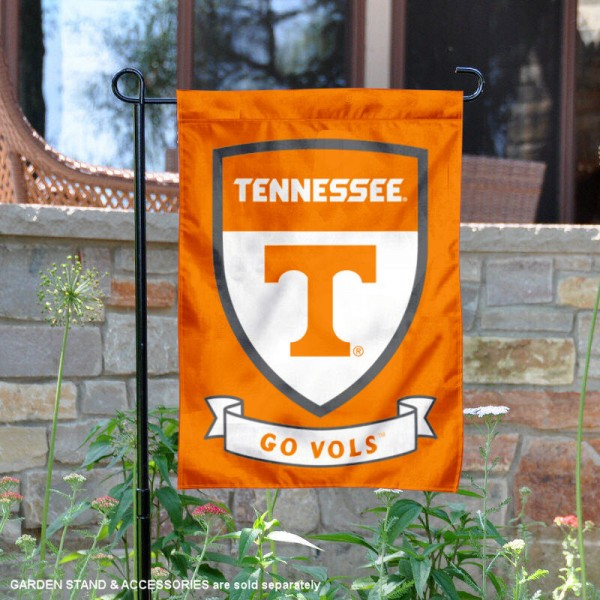 Tennessee Vols Shield Garden Flag