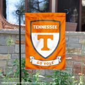 Tennessee Vols Shield Garden Flag