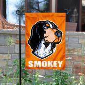 Tennessee Vols Smokey X Mascot Garden Flag